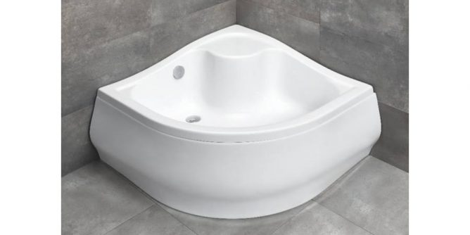 mély zuhanytálca