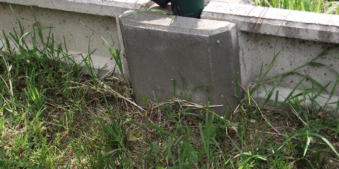 lábazati betonelem