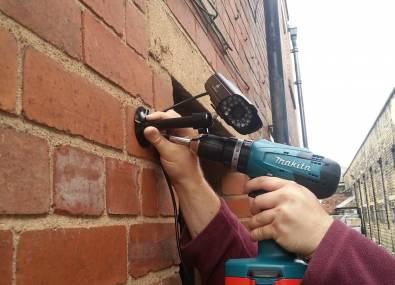 kamerarendszer kiépítése